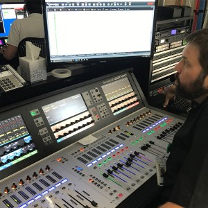 Joe A 1 in Control Room