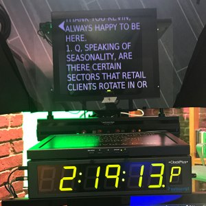 Shot of Prompter