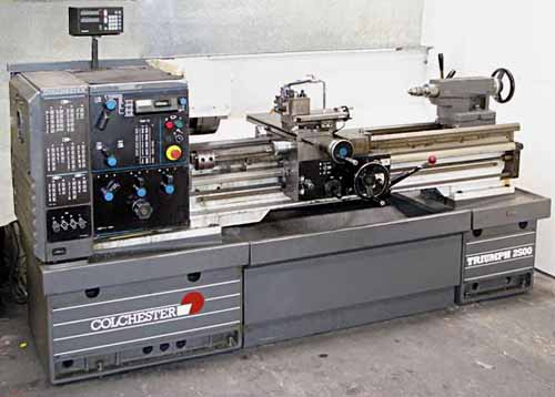 Colchester Lathe Replacement Parts