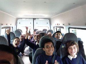 Broad Heath Minibus Selfie!!!