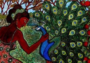 Melissa-Cole,-Peacocks-and-Pomegranates_1