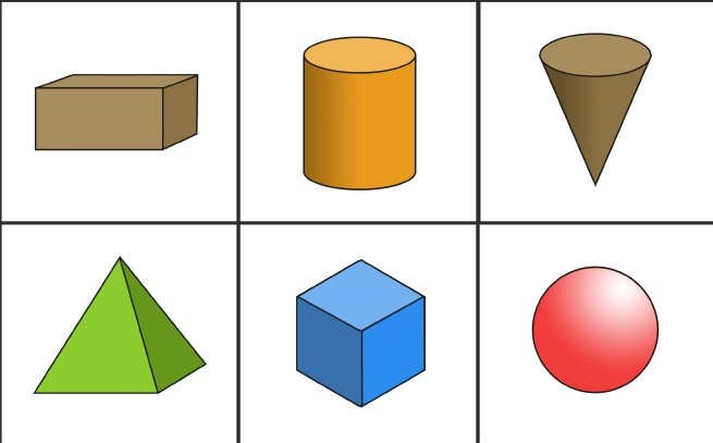Image result for 3 d shapes