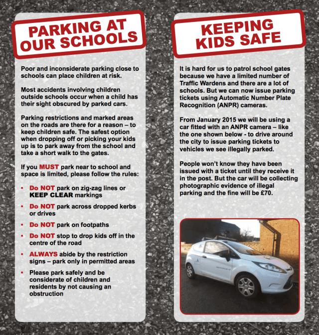 Parking enforcement leaflet (spreads)2