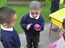 We have been investigating new, exciting things in the Nursery!