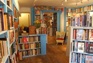 Entrance to Broadleaf Books