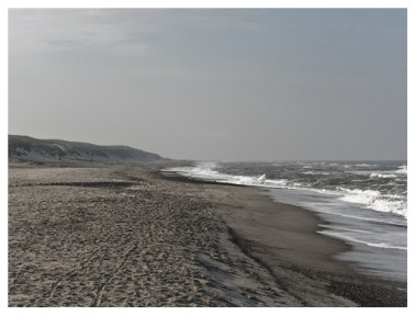 21|08|2011 – Frühmorgens am Strand von Bjerregård