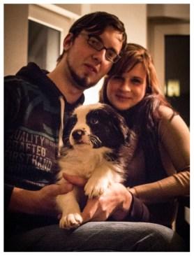 11|01|2013 – »Gonzo« lebt nun bei Sascha, Steffi und Oliver in Siegen