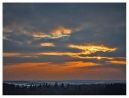 13|02|2013 – Sonnenuntergang auf der Fuchskaute