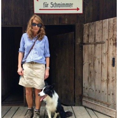 Pepper am Chiemsee: Vogue, Ausgabe 08/14