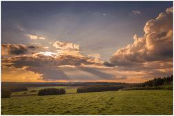 14|09|2014 – Abendstimmung mit Blick auf Höhn