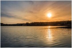 13 04 2015 – Sonnenuntergang am Haidenweiher