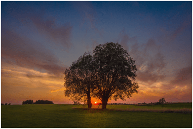 22|08|2015 – Sonnenuntergang bei Kirburg