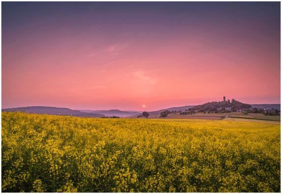 Mai: Merenberg bei Sonnenaufgang