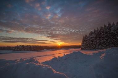 18|01|2017 – Sonnenuntergang auf der Fuchskaute