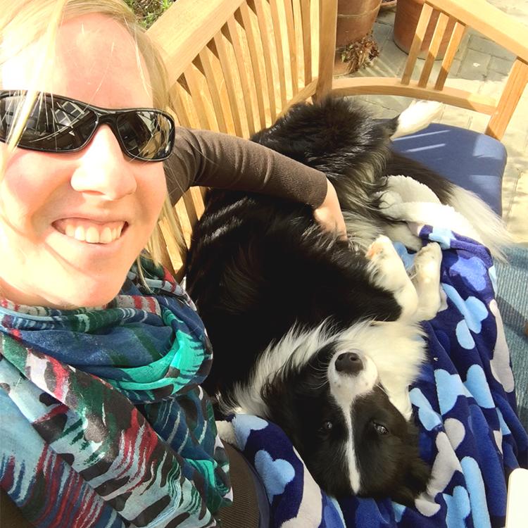 Selfie des Monats: Anne und ihre Nova (Broadmeadows Champagne Supernova)