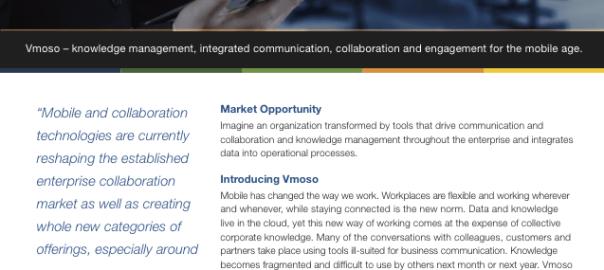 Vmoso -Join Partner Program Data sheet