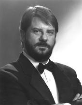 Nathan Hull, baritone and master of ceremonies