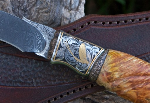 Engraved Trout Knife