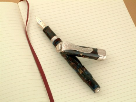 Mokume Gane Fountain Pen