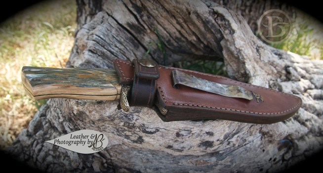 Boot knife sheath