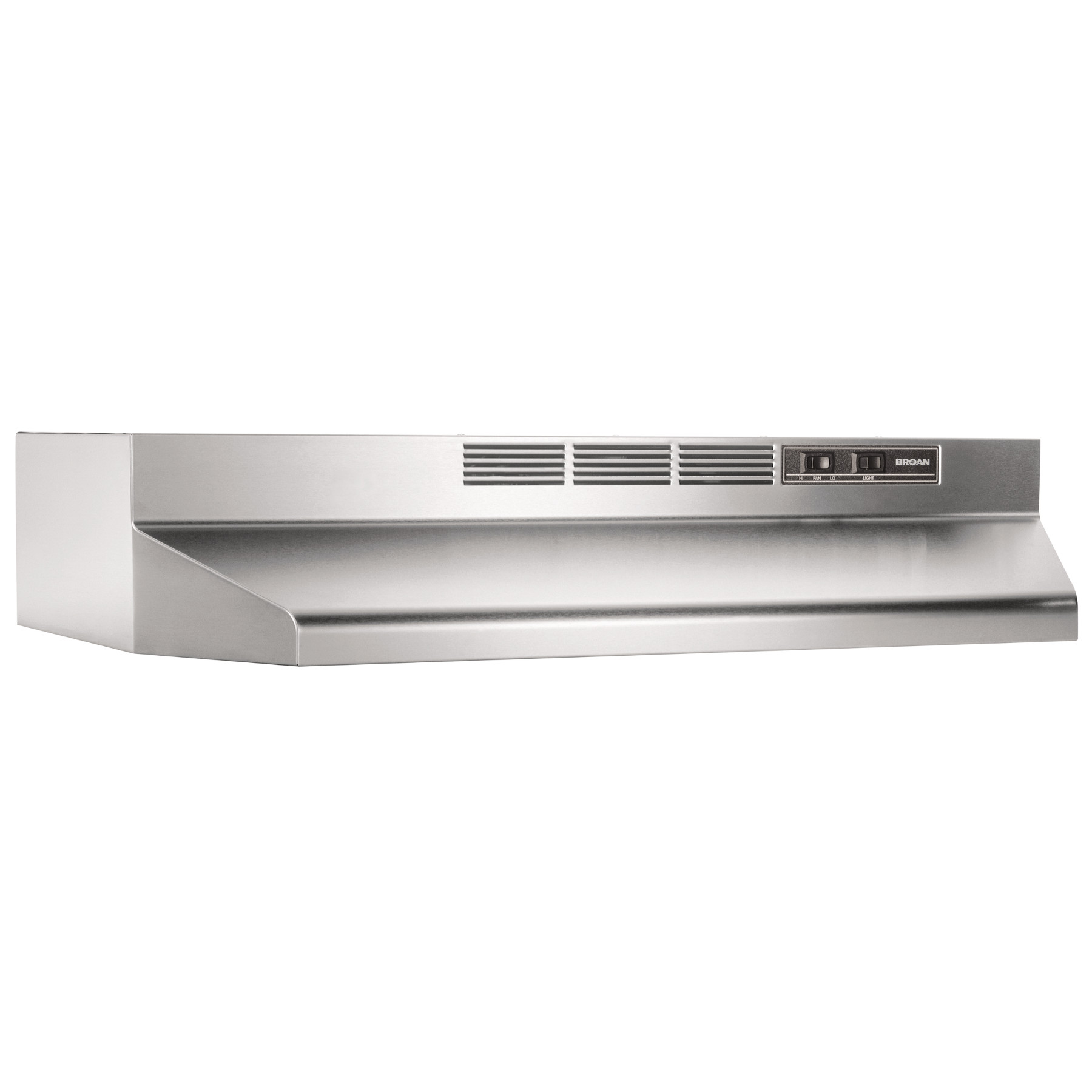 broan 30 inch ductless under cabinet range hood stainless steel