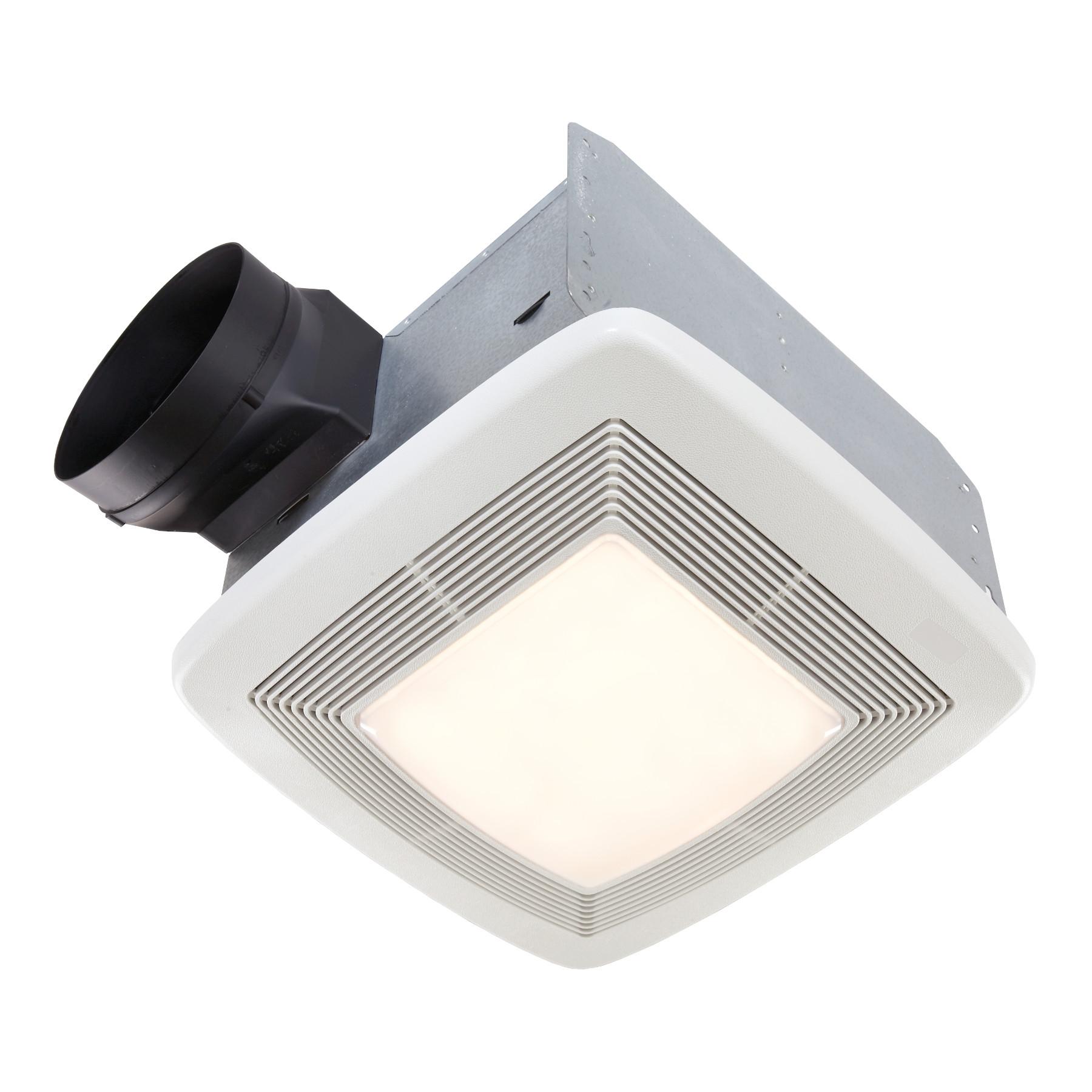 broan qtxe series 110 cfm ventilation fan light 36w fluorescent light 4w nightlight 0 7 sones e