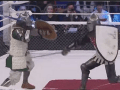 Russian MMA Org Features Armored Knights Battling With Swords And It Looks Amazing
