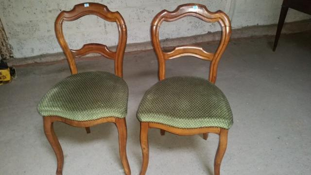 paire de chaises louis philippe lille