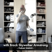 Brock juggling some Skora shoes