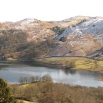 winter walk rydal near Grasmere Cottage
