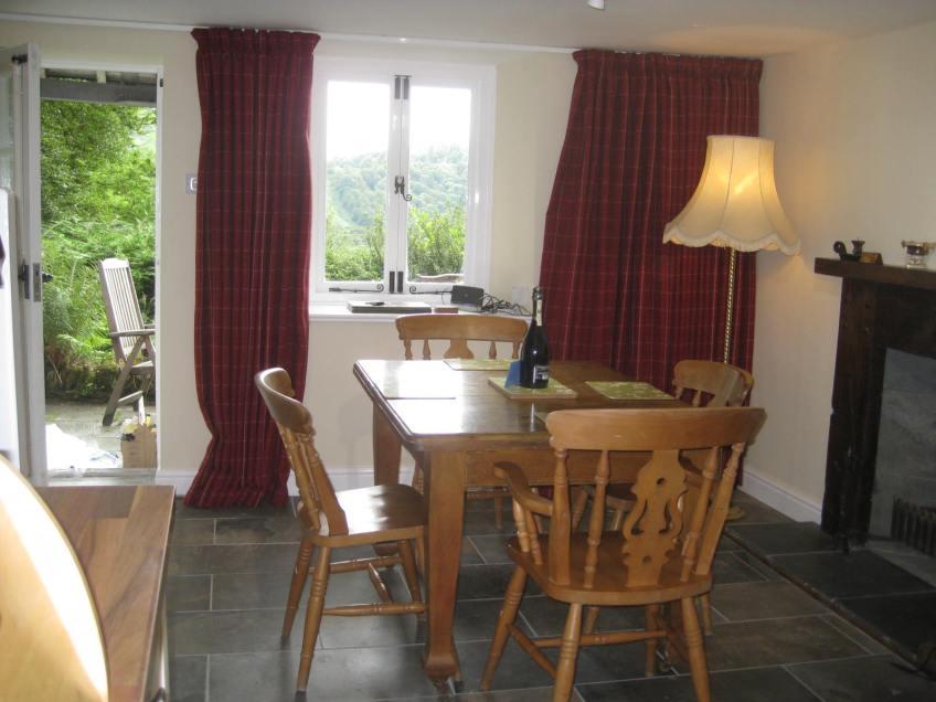 dining area Grasmere cottage