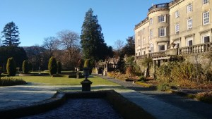 Rydal Hall on a frosty November morning