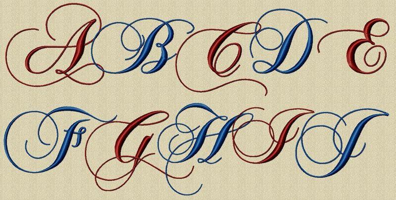 alphabet romantique