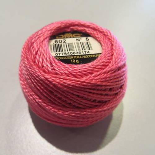bobine coton perle