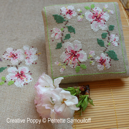 broderie fleurs de cerisier