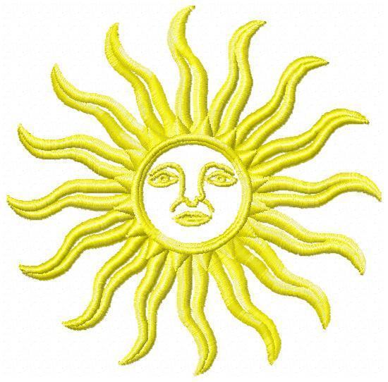 broderie soleil