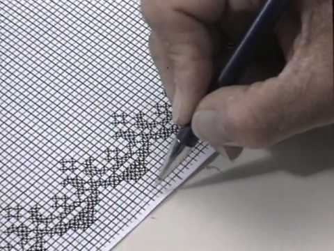 comment faire un point de croix en broderie