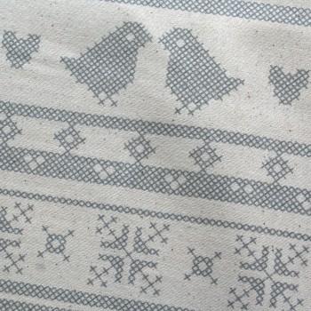 coton point de croix
