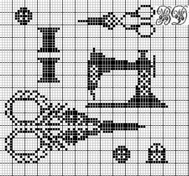 diagramme gratuit de point de croix
