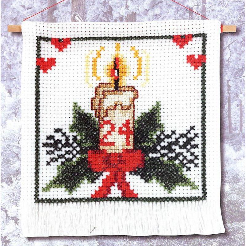 kit broderie point de croix