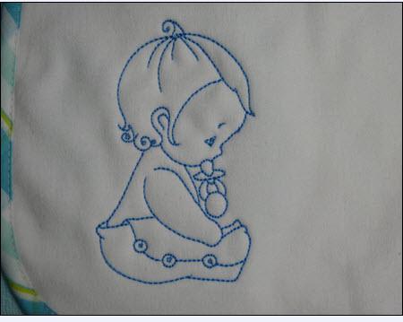 modele broderie gratuit bebe
