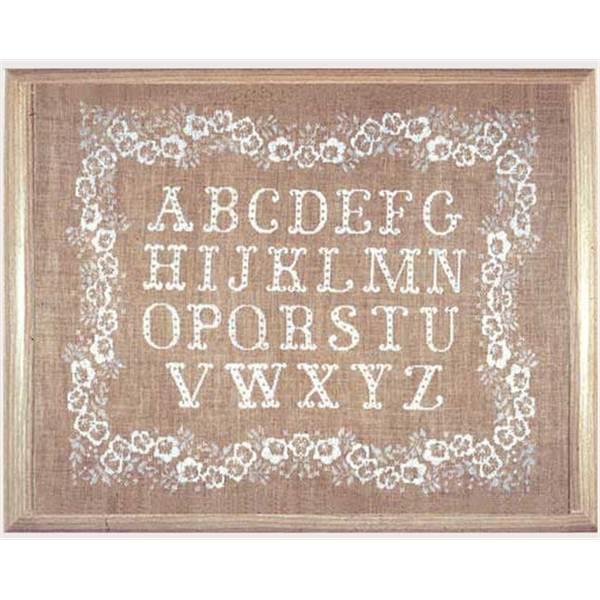 point de croix abecedaire