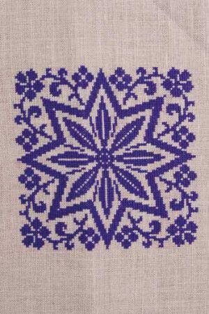 point de croix motif