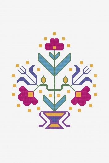 point de croix motifs