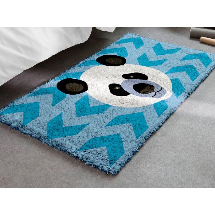 kit tapis point noue panda smyrnalaine