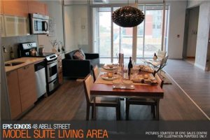68 Abell St. Unit# LPH02 Epic on Triangle Park Model Suite 2