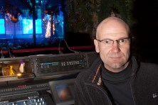 Steve Brodie at digital mixing desk
