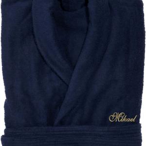 Badrock med personlig brodyr på bröst eller rygg