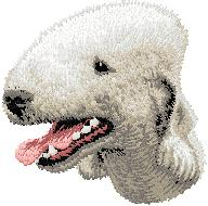 Hundbrodyr Bedlington terrier