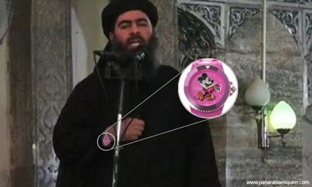 Abu-Bakr-al-Baghdadi-ridiculed-for-wearing-Disney-wristwatch